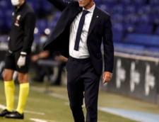 """Zidane, la un pas de demiterea de la Real Madrid. """"Nu m-am crezut niciodata de neatins. Niciodata. Nici ca jucator, nici ca antrenor, nici ca om"""""""