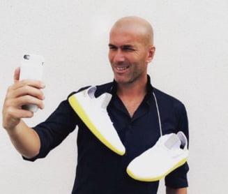 Zidane a rabufnit in timpul unei conferinte de presa