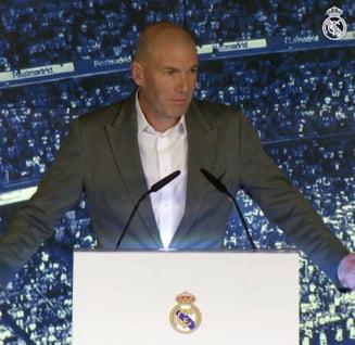 Zidane explica de ce a revenit la Real Madrid si ce planuri are