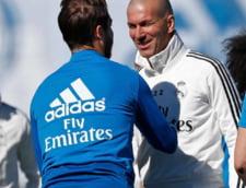 Zidane surprinde la primul meci dupa revenirea la Real Madrid