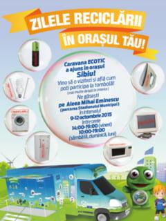 Zilele Reciclarii in Sibiu!