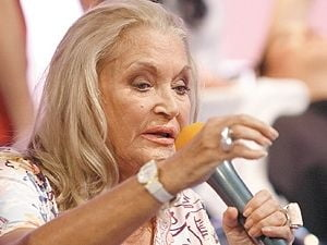 Zina Dumitrescu si-a petrecut Craciunul internata intr-un azil