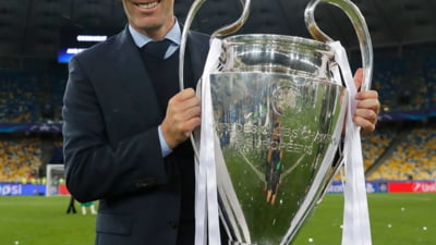 Zinedine Zidane, noul antrenor al lui Real Madrid - oficial