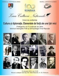 Ziua Culturii Nationale la Muzeul Judetean Ialomita