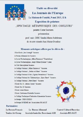 Ziua Europei sarbatorita la Biroul Francez de la Casa Prieteniei
