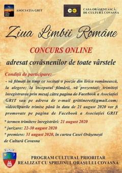 Ziua Limbii Romane, celebrata printr-un concurs online de recitari