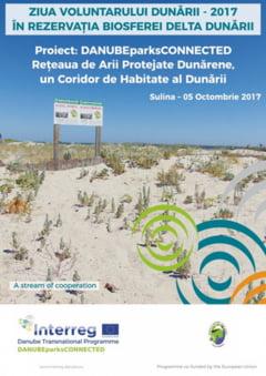 Ziua Voluntarului Dunarii, de Ziua Internationala a Educatiei, la Sulina