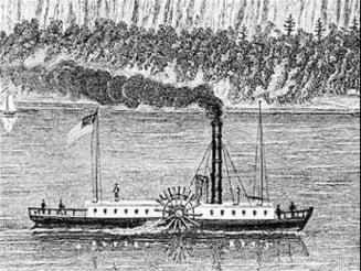 Ziua cand primul vapor cu aburi traversa marea, acum 206 ani