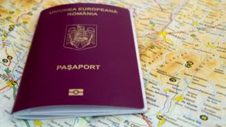 Pasaportul romanesc FOTO facebook