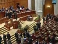 Ziua si motiunea de cenzura, in Parlament
