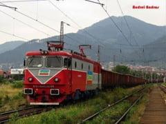 Ziua si trenul deraiat: Doua vagoane ale unui marfar au iesit de pe sine in Bacau