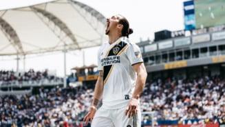 Zlatan Ibrahimovici, debut de vis pentru LA Galaxy. Doua goluri de poveste intr-o victorie de la 0-3 (Video)
