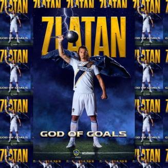 Zlatan Ibrahimovici a ajuns la al 500-lea gol al carierei, dupa o executie splendida in SUA (Video)