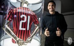 Zlatan Ibrahimovici a fost prezentat oficial la AC Milan si a surprins cu modestia sa. Ce numar va purta pe tricou