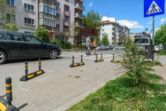Zone de siguranta pentru pietoni, montate in 15 locatii din Sfantu Gheorghe
