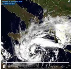 Zorba, un veritabil uragan de Mediterana, va lovi astazi si maine Grecia si Turcia
