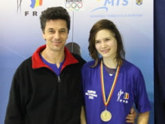 Zsuzsa Schlier, campioana nationala la spada, cadete