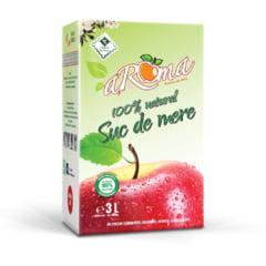 aRoma - suc natural de mere, autentic romanesc