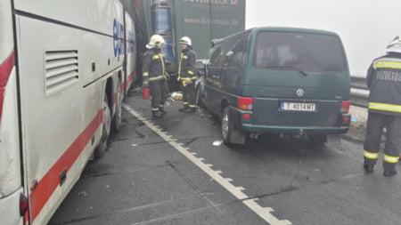 accident Ungaria IGSU autocar