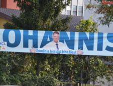 afis Klaus Iohannis campanie