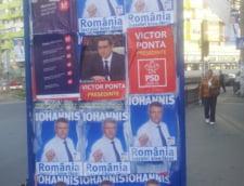 afis Klaus Iohannis
