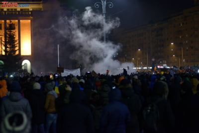agitatori proiectile protest