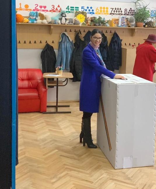 Ana Birchall a votat