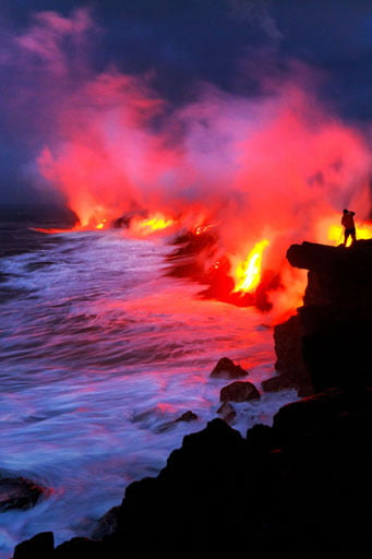 apa de foc Hawaii 3