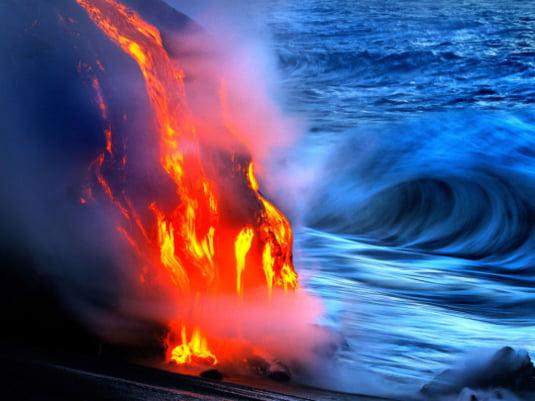 apa de foc Hawaii 5