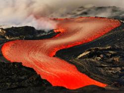 apa de foc Hawaii