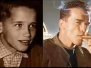 Arnold Schwarzenegger copil adolescenta poza