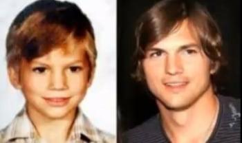 Ashton Kutcher copil infatisare