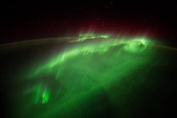 Aurorele boreale spatiu
