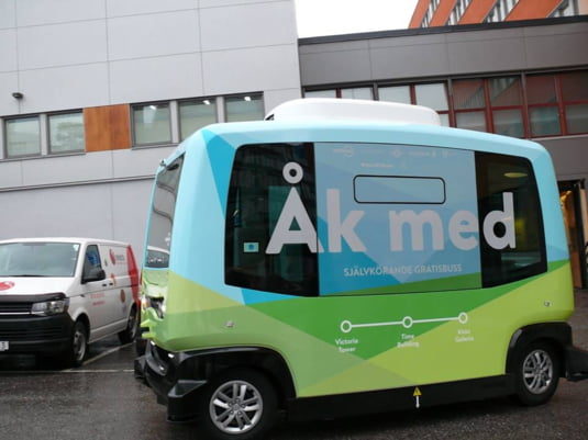 autobuze autonome Nobina Sverige AB