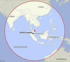 Avionul malaezian a fost gasit