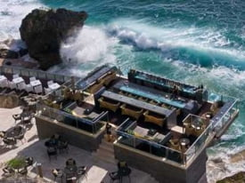 Ayana Resort Spa Rock Bar, Bali
