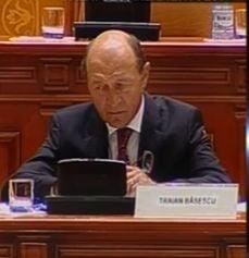 Basescu dupa discurs