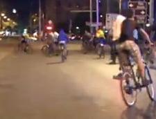 biciclisti protest rosia montana