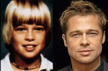 Brad Pitt elev Missouri poza