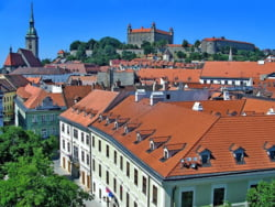 Bratislava oras vechi castel