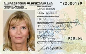 buletin biometric Germania