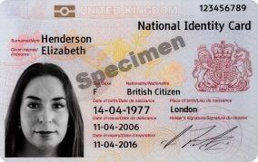 buletin biometric Marea Britanie