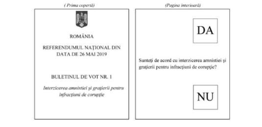 buletin vot referendum justitie - intrebarea 1