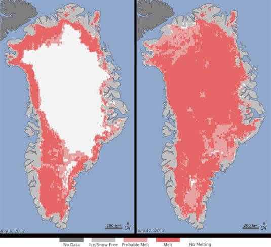 calota glaciara Groenlanda