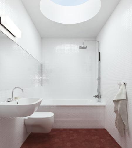 casa Suedia baie