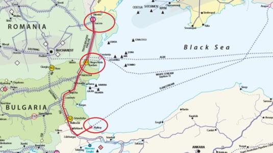 Ce traseu ar urma gazul pe care vor ucrainienii sa il duca la Odessa, prin Romania