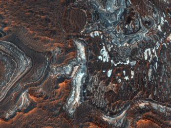 cel mai mare canion de pe Marte