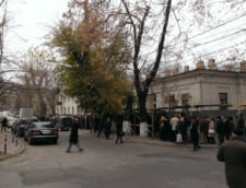 coada sectie vot Chisinau
