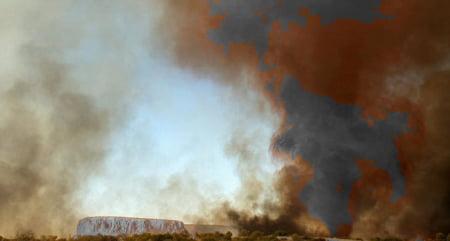 coloana foc Australia poze