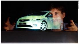 Compania Displair a prezentat un dispozitiv ce proiecteaza imaginile in aer, ca niste holograme